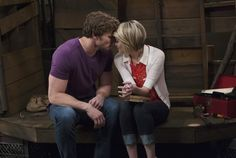 Danny and Riley. SO wanted them to kiss!!! Can't stand her with Ben or him with Georgie!!