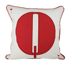 Queen Cushion Cover 45x45cm by HupperStore on Etsy $23