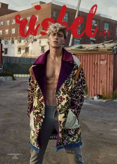 They say punk is about swimming against the flow, and so Risbel takes us on a journey of rebellion with Brazilian supermodel Francisco Lachowski. Francisco Lachowski, Men Fashion Photo, Fashion Models, High Fashion, Mens Fashion, Men Fashion Magazine, Artist Fashion, Fashion Guide, Haute Couture Style
