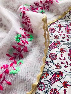 Embroidery On Kurtis, Kurti Embroidery Design, Embroidery Suits, Collections, Touch