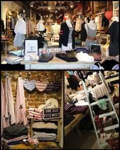 Brandy  Melville: Stumbled across this store in Soho, all the clothes are one size fits all. All made in Italy and surprisingly affordable.