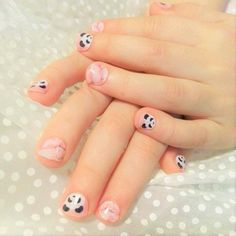 Awesome Pandamonian Jamberry Nail Wraps. I just love these and they even fit my tiny fingers ;)