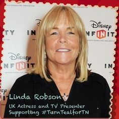 Thank you Linda Robson for wearing teal for our awareness day on Trigeminal Neuralgia, Tv Presenters, English Actresses, The Cure, Facial, Teal, Magazine, Education, How To Wear