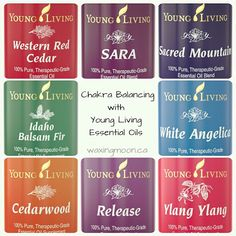 Chakra Balancing with Young Living Essential Oils — Waxing Moon
