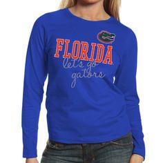 Buy Florida Gators Women s Shinedown Spirit Long Sleeve T-Shirt - Royal Blue  from the Official Store of the University of Florida Gators. e48087c3927b