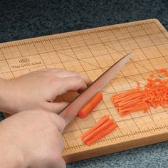 The OCD Chef cutting board - brilliant!