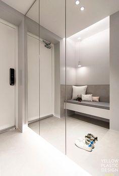 Home Room Design, Dream Home Design, Bathroom Interior Design, House Design, Wardrobe Door Designs, Wardrobe Design Bedroom, Closet Designs, Mirrored Wardrobe Doors, Mansion Interior