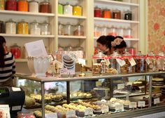 Miette Confiserie. Really want to try the Old Fashioned Cupcake & the Panna Cotta.
