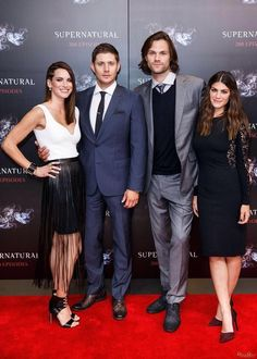Men and their Ladies! #SPN200 18/10/14