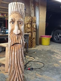 Chainsaw carving                                                                                                                                                     More