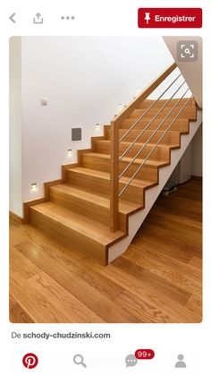 Pin By Gianna Glaesmann On Lasobrina In 2019 Stairs House Stairs Gianna Glaesmann Lasobrina Pin Stairs Modern Stair Railing, Stair Railing Design, Stair Handrail, Loft Stairs, Staircase Railings, Modern Stairs, House Stairs, Home Stairs Design, Interior Stairs