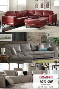 Save 10% On All Palliser Leather Furniture until February 1st, 2016!