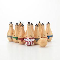 木製ボウリング IN A BAG/相撲