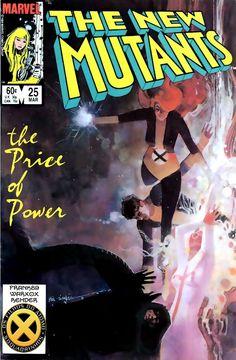 SAM-COMICS: Os Novos Mutantes V1 25