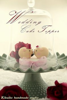 LOVE ANGELS Wedding Cake Topper-love guinea pigs by charles fukuyama, via Flickr