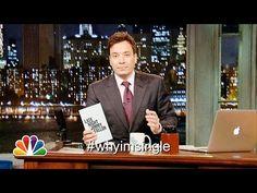 Hashtags: #WhyImSingle on Late Night with Jimmy Fallon ~ 10-10-13 (Thursdays # days)