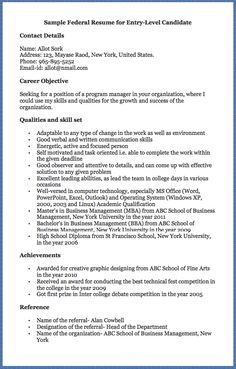 the main aim of drafting a federal resume is to get a call for the interview - How To Write A Federal Resume