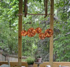 11 Gorgeous Backyard Ideas You Need To Save For Spring. Outdoor Porch LightsOutdoor  ChandelierDiy ...