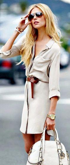 Fashion New Women Lady Long Sleeve Party Mini Dress Shirt Casual Long Blouse Top on Luulla