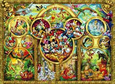 Disney Heroes 11. Cross Stitch Pattern. PDF door ExclusiveXPatterns