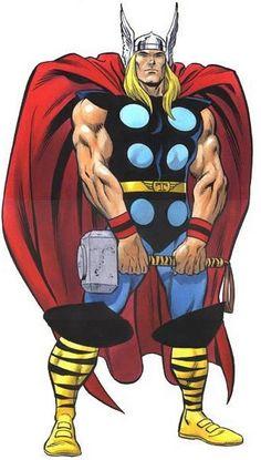 Thor By Ron Frenz