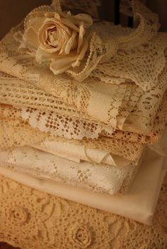Lace, lace and more lace...