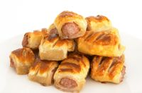 British Sausage Rolls Meaty sausages wrapped in pastry - sausage rolls - are a perfect food whether for a picnic, buffet, party, lunch box or simply a snack. Saus...
