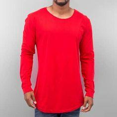 Urban Classics T-Shirt manches longues rouge