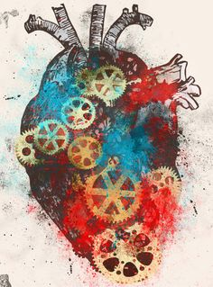 Mechanical Heart.                                     Show to Laura A for clockwork