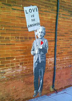 street art in toronto. einstein
