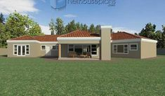 A 4 Bedrooms Tuscan styled house plans you can call home. This 4 Bedrooms Tuscan styled house design is perfect for your medium size family. Cheap House Plans, House Plans For Sale, House Plan With Loft, House Plans With Photos, Garage House Plans, Best Modern House Design, Contemporary House Plans, Modern House Plans, Modern Houses
