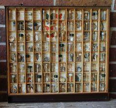 Symbiosis Mixed Media Shadowbox Assemblage by stevenssteampunk, $400.00