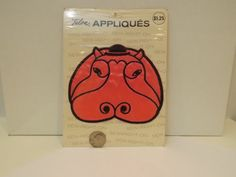 Perfect for finishing that pillow case, night gown, robe, baby blanket or quilt, pjs, shirt or skirt! This is a sew-on applique, not iron-on. 1
