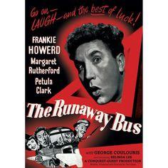 The Runaway Bus [1954]: Frankie Howerd, Margaret Rutherford, Petula Clark, Belinda Lee, Val Guest