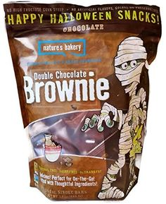 Nature's Bakery Double Chocolate Brownie Happy Halloween Snacks, 24- 1 oz Single Bars *** See this great product.
