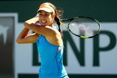 2008 BNPP Open Champion Ana Ivanovic upset by #17-Seed Sloane Stephens in the 3rd rd. 3/10/14