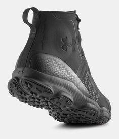 wholesale dealer 87ab2 d42c0 Men s UA SpeedFit Hike Boots, Black Leather Hiking Boots, Men s Sneakers,  Black Sneakers