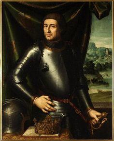 Alfonso V de Aragón por Juan de Juanes