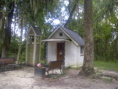 The smallest church in America is located in Darien, #Georgia. It measures only 10x15 feet!