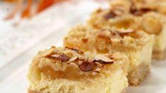 Vaniljeruter - Oppskrift fra TINE Kjøkken Krispie Treats, Rice Krispies, Tin, Snacks, Desserts, Food, Tailgate Desserts, Appetizers, Deserts