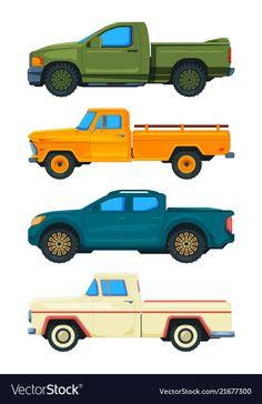 Pickup truck transport of vector image on VectorStock Transport Illustrations, Car Drawing Kids, Truck Transport, Exotic Sports Cars, Indian Art Paintings, Car Drawings, Pick Up, Pickup Trucks, Surfboard