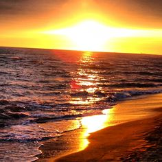 sunset to ostia beach