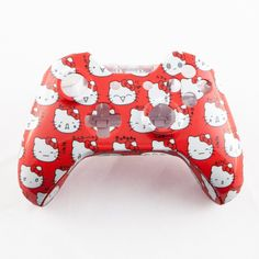 White Hello Kitty Hydro-Dipped Custom Controller Shell for Xbox One