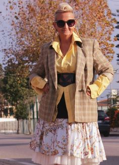 Rembrant Print Skirt