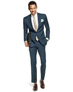 How to Wear an Office Suit at Night