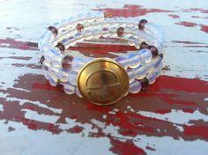 Vintage Gucci Button Bracelet