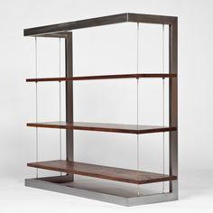 Suspended Bookshelf by Taylor Lawson Donsker