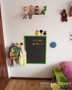 Deco - DIY: Pizarra magnética para habitación infantil