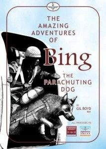 Bing - a dog who parachuted into France on D-Day