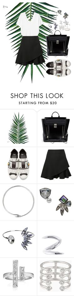 """""""Untitled #753"""" by adda21 ❤ liked on Polyvore featuring Nika, 3.1 Phillip Lim, Fendi, Victoria Beckham, Acne Studios, CA&LOU, Shaun Leane, Stella & Dot, Repossi and backpacks"""